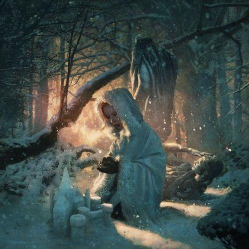 Sansa at the Eeyrie
